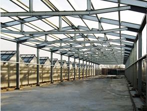 сооружение из металлоконструкций для сельского хозяйства