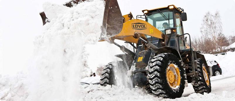 Вывоз снега в Казани